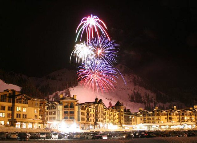 Squaw Valley holiday fireworks