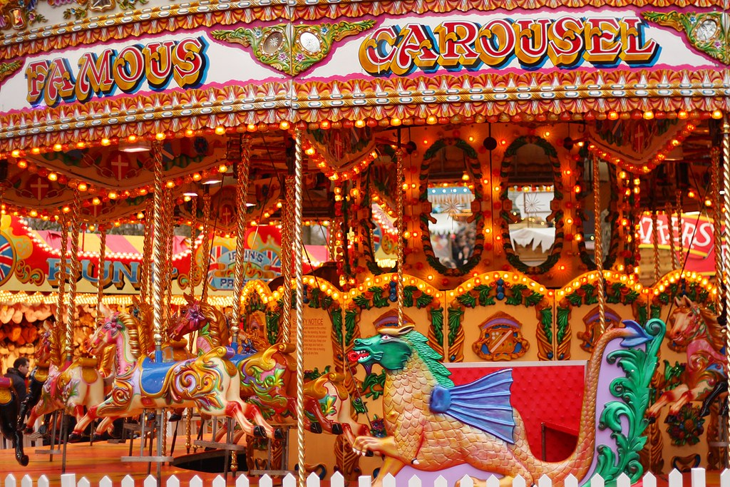 Winter Wonderland carousel