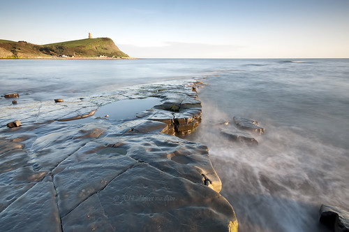 longexposure sunset england cliff tower bay coast nikon rocks surfing dorset purbeck kimmeridge ndfilter d90 theflats clavell