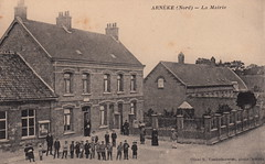 Arnèke (Nord) - La Mairie by R. Vanderbauwède (c.1915)