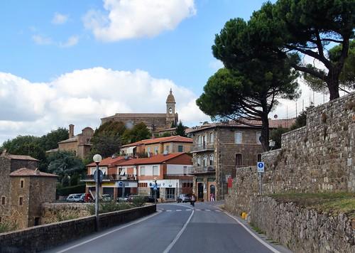 De carro pela Toscana