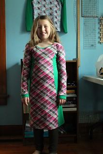Mini Penny Pinafore and Ottobre 04/2013 #30 Leggings