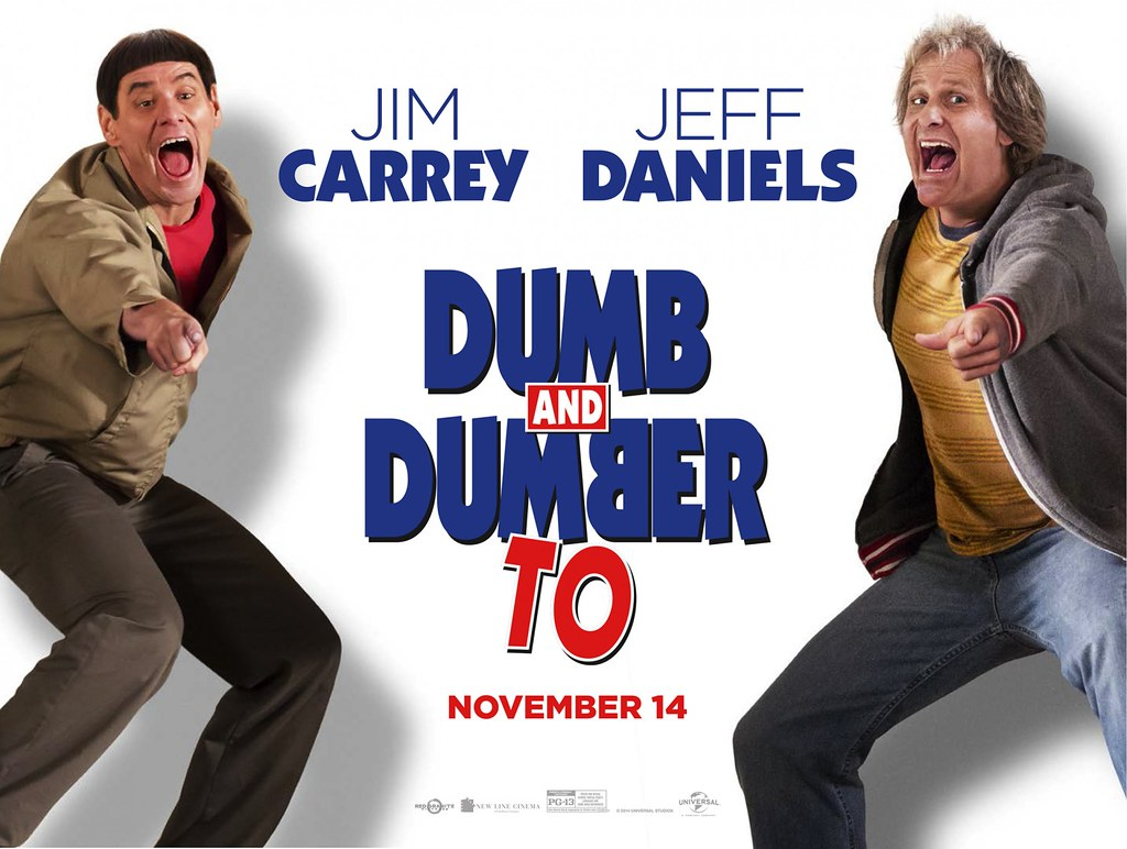 Harry And Lloyd Point & Laugh In Latest Poster For DUMB AN