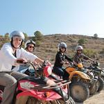 Pack paseo a caballo, aperitivo, circuito de quads y paella