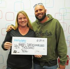 Karri Sorenson - $10,000 Toucan Doubler