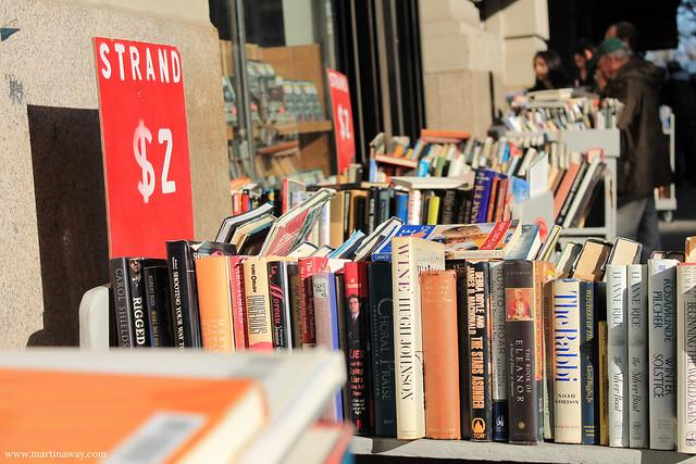 Books at Strand.