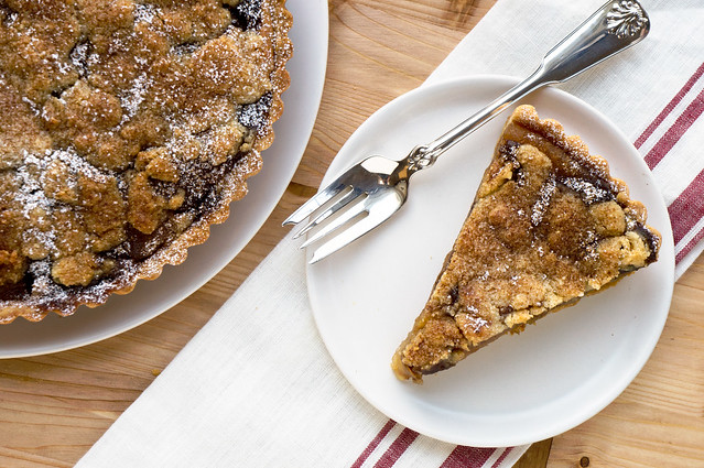 sliced tart