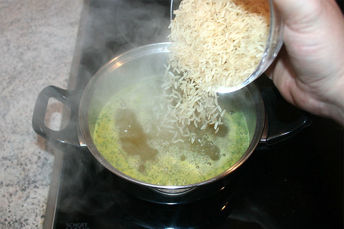 35 - Reis hinzufügen / Add rice