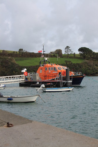 The Salcombe Tamar class lifeboat