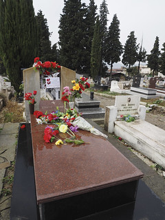 The grave of Enver Hoxha