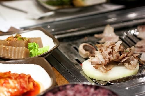 pork belly @ chung dam dong