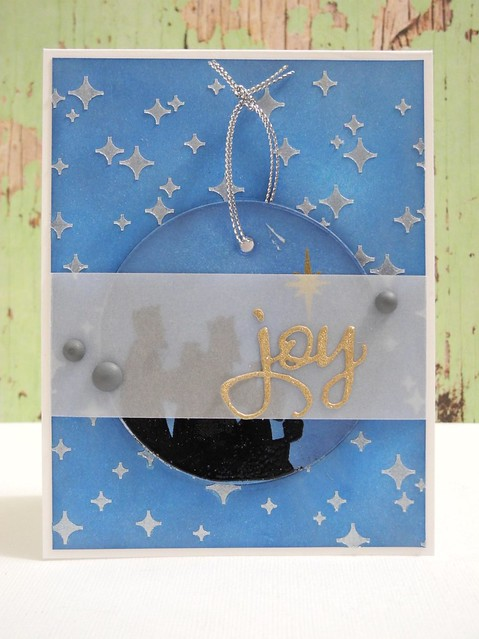 Joy Ornament card