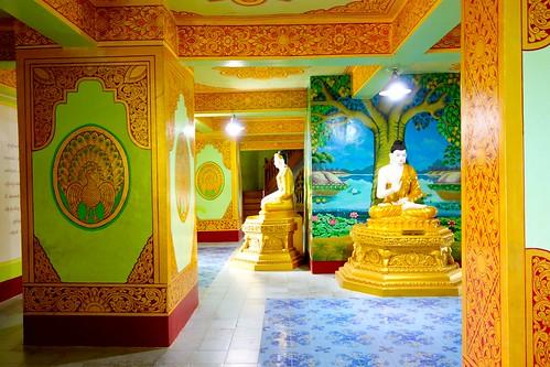 Inside Bodhi Tataung Buddha statue