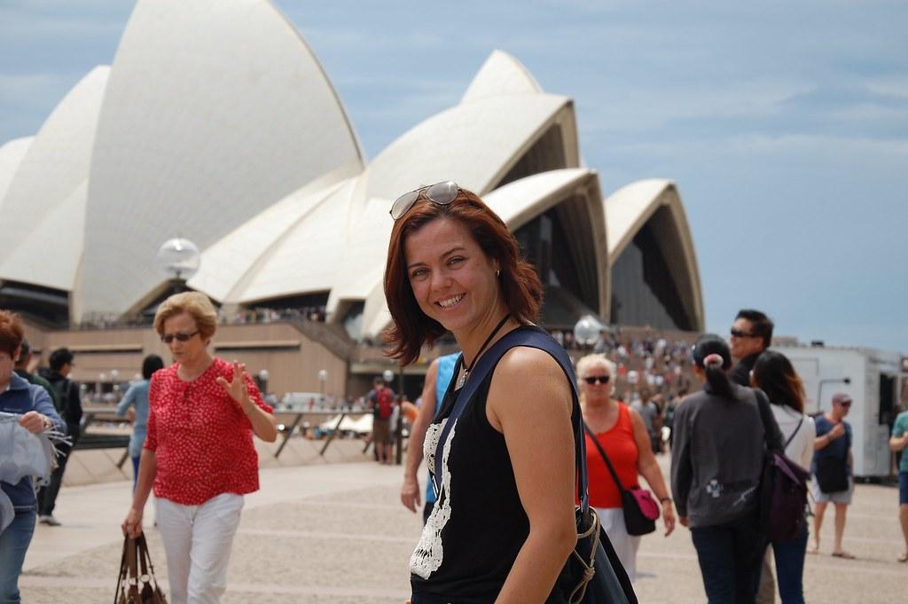 Manmely en la Opera House de Sídney