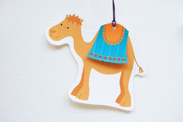 Printable Camel Gift Tags