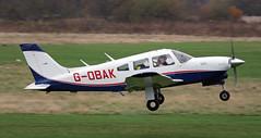 G-OBAK ></a> <br /> G-OBAK Piper PA-28 (NS)<br /> <span style=