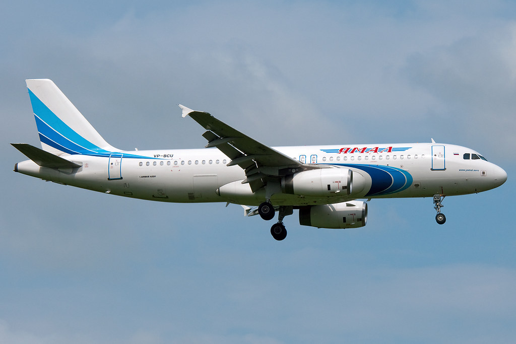 VP-BCU - A320 - Yamal Airlines