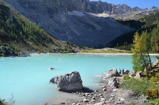 Il Lago di Sorapiss