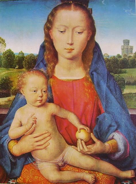11 Memling - Madonna col bambino