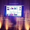 Live social wall. @thisisfushion pulls from Facebook, Twitter, Vine & Instagram. (Sorry, Tumblr, Plus & Pinterest.)