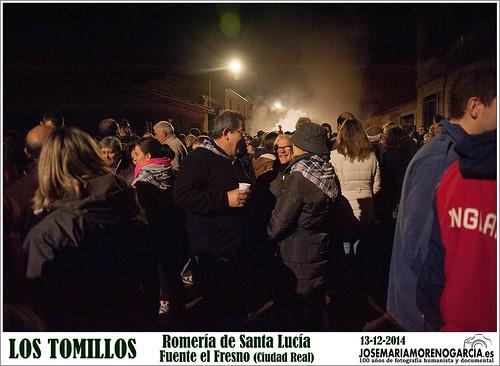 Los Tomillos de Fuente el Fresno por Santa Lucía