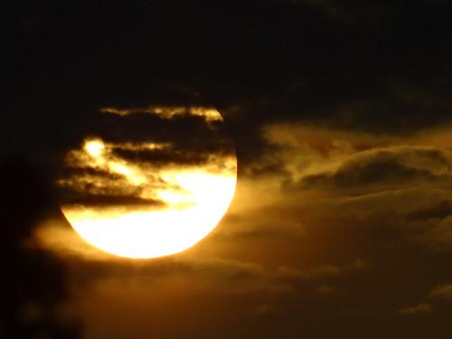 Der Sonnenaufgang brennt in mein Gehirn mit gährender Glut mit heißem Sehne  01793
