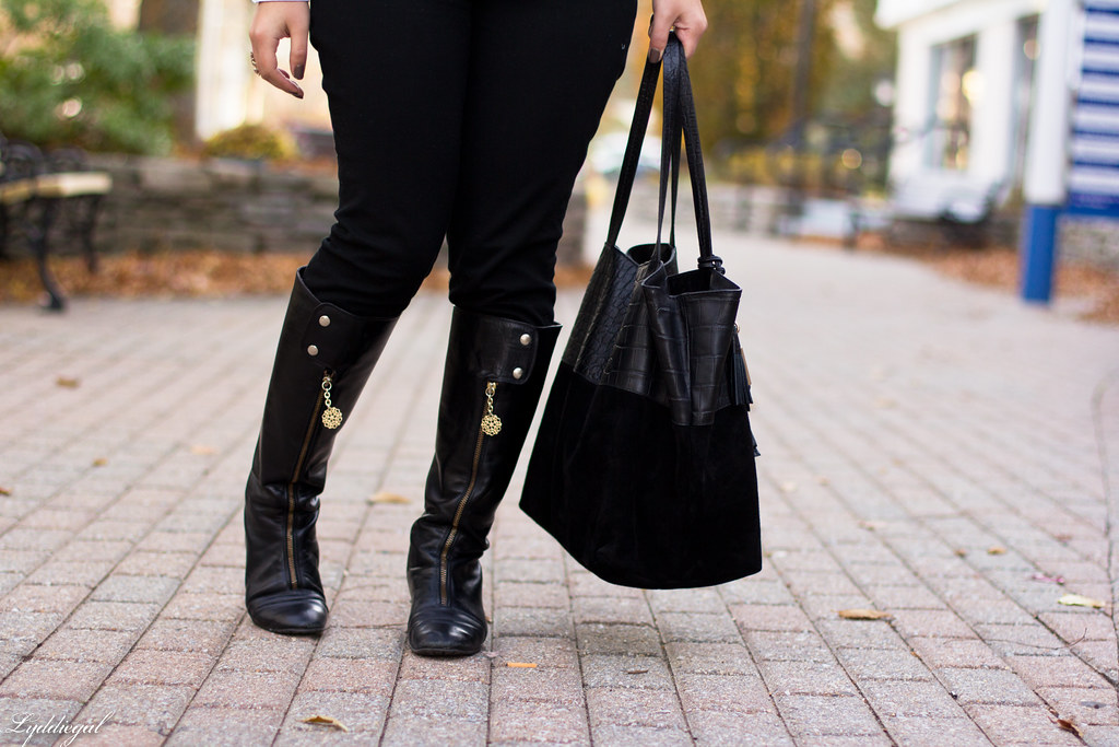 herringbone vest, black pants, knee high boots-5.jpg