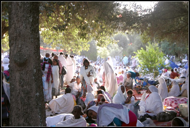 Festival of St Marie at Axum