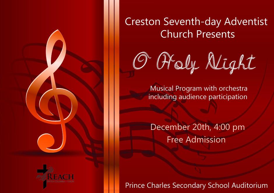CRESTON SDA CHURCH - O HOLY NIGHT
