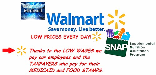 Park Avenue Food Drive for Walmart Workers