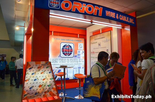 Orion Exhibit Booth