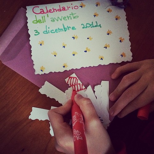 Homemade Advent Calendar:) Calendario dell'Avvento fatto in casa:) con @rachybardus :)