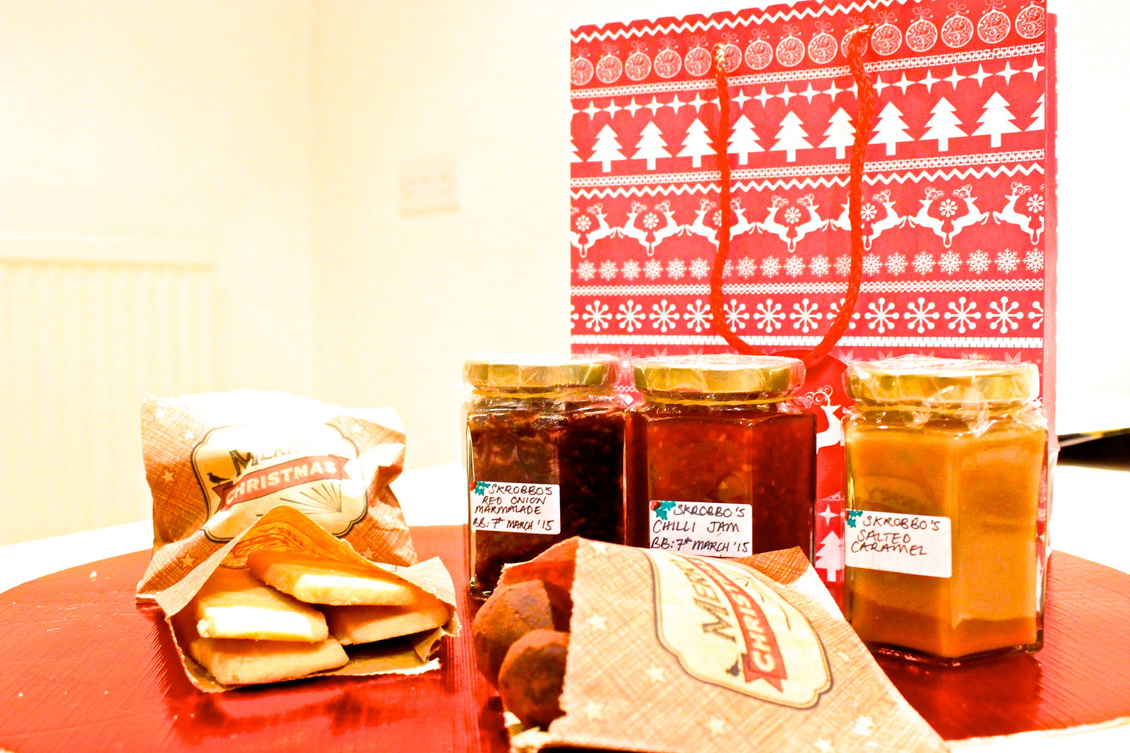 Homemade Christmas Food Hamper 2014