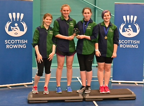 S3 Scottish Schools Indoor Rowing Champions