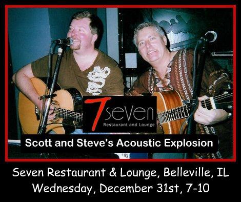 Scott and Steve's Acoustic Explosion 12-31-14