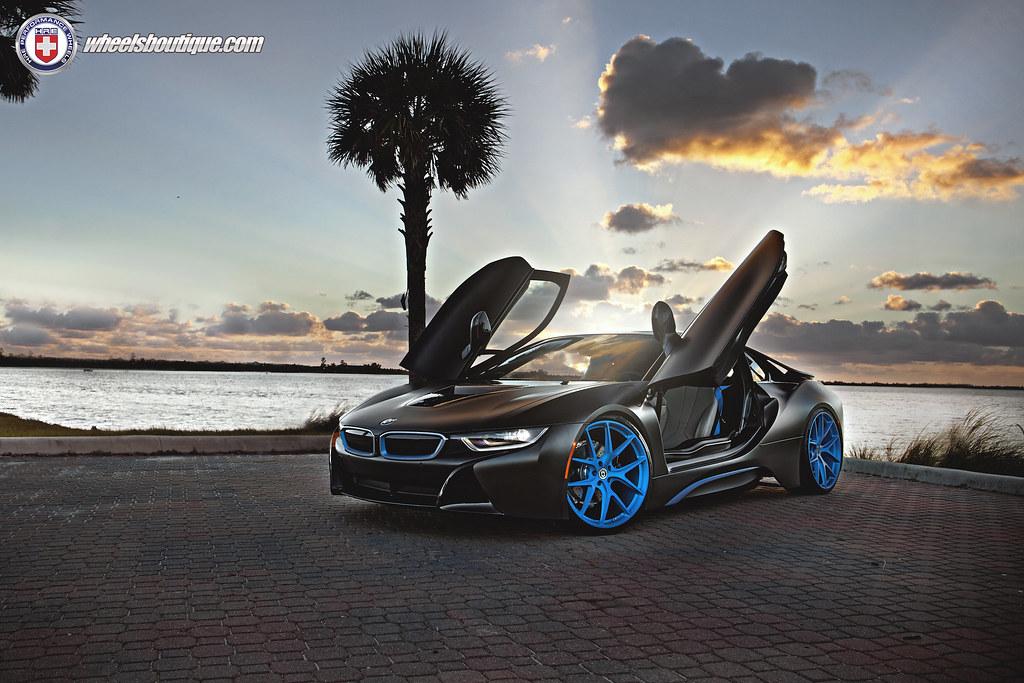 Bmw I8 On Hre P101 Frozen Blue 6speedonline Porsche Forum And