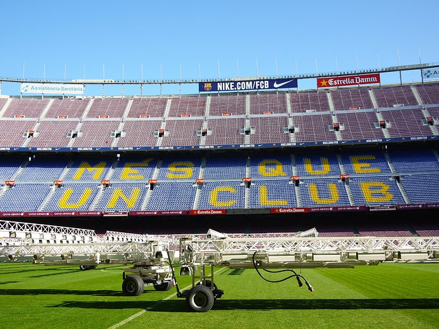 Spain Barcelona Camp Nou 3