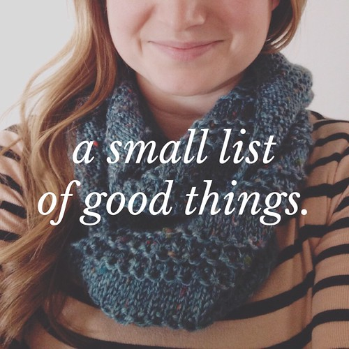 small list of good things | yourwishcake.com