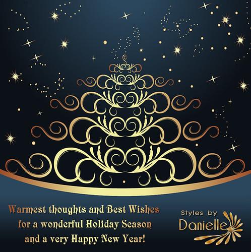 DANIELLE Seasons Card 2014