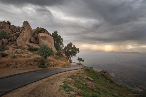 california winter sunset storm weather clouds landscape warm riverside mount rubidoux