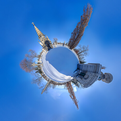 world park new york old blue winter sky panorama white snow newyork abstract tree halloween monument nature beautiful beauty cemetery grave graveyard stone museum america forest circle landscape outdoors buffalo globe memorial colorful unitedstates outdoor earth unitedstatesofamerica small pillar lawn scene historic funeral national tiny round planet burial unusual roadsideattraction forestlawncemetery buffalonewyork tinyplanet tinyworld bordeleau forestlawnmortuary