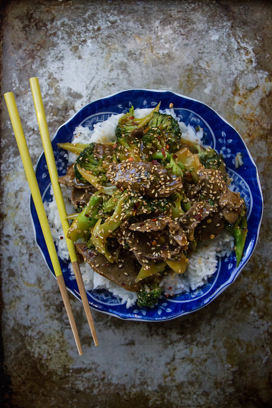 Sesame Ginger Beef and Broccoli