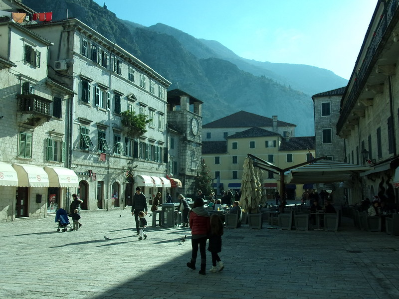 Main square, Old Kotor