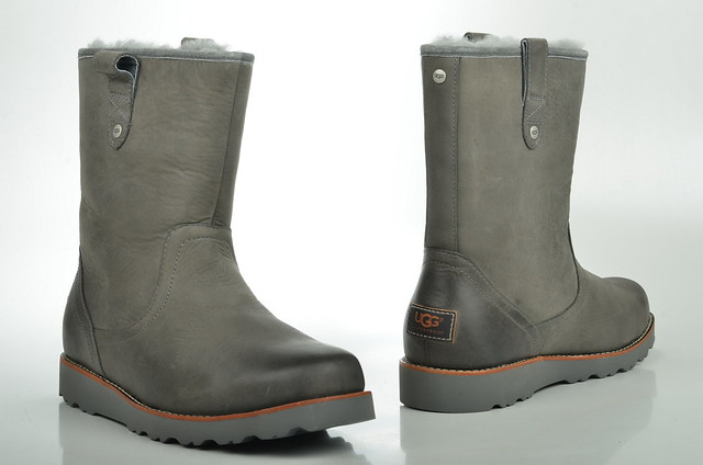 ugg metallic grau