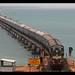 Meenakshi Express Over the Pamban by Sriram_Express