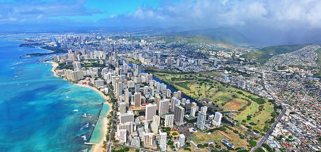 Waikiki, Honolulu Panorama