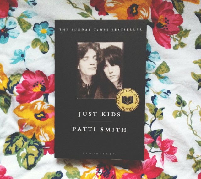 vivatramp bee patti smith just kids secondhand book haul lifestyle book blogger uk