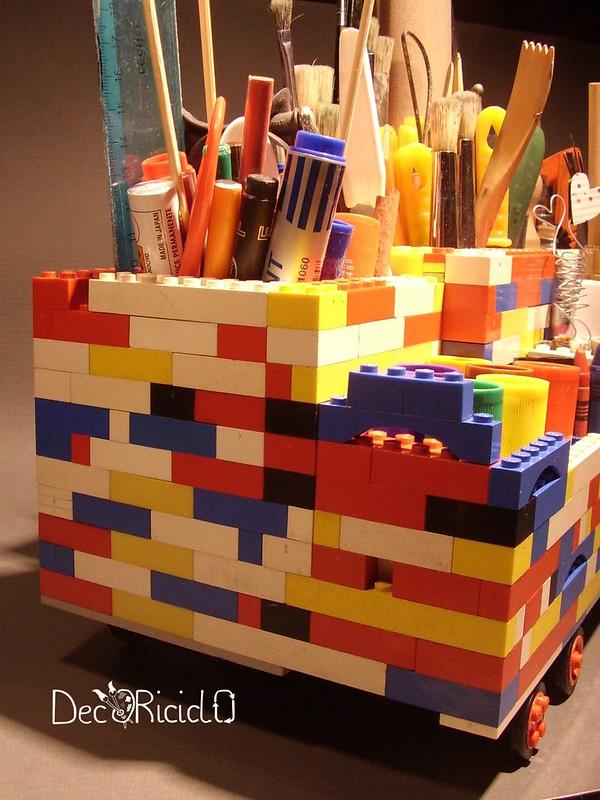 portaoggetti LEGO 8