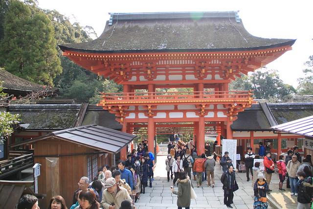上賀茂神社 - 本殿入口