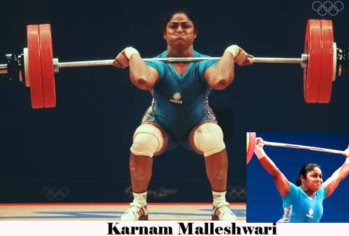 Karnam Malleshwari Indian Sports